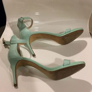 b956de1523 Banana Republic Shoes - Banana Republic mint heel sandals